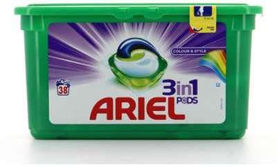 Ariel Lessive 3En1 Pods 38