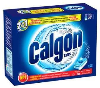 Tablettes anti-calcaire Calgon
