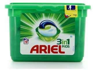 Ariel Pods 19 Doses 3En1 Regulier