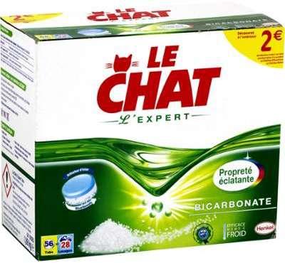 Lessive bicarbonate Le Chat