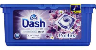 Dash Lessive 2en1 Perles 30