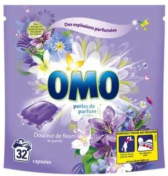 Lessive fleurs et jasmin Omo