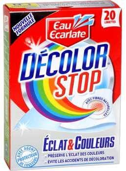 Lingettes Décolor Stop Eclat