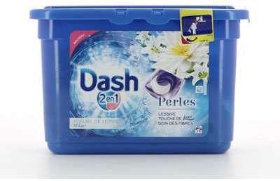 Dash Lessive 2En1 Perles 19