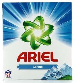 Ariel Lessive Poudre 21 Doses
