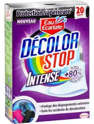 Lingettes Décolor Stop Intense