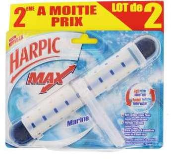 Harpic Max - Lot de 2 blocs