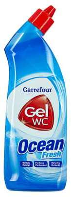 Gel WC détartrant ocean fresh