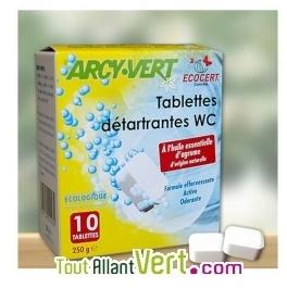 Tablettes détartrantes WC