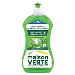 Liquide Vaisselle Maison verte