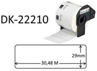DK-22210 Etiquettes compatibles