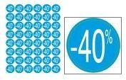 Agipa 101736 étiquettes -40