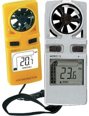 Anémomètre thermomètre compact