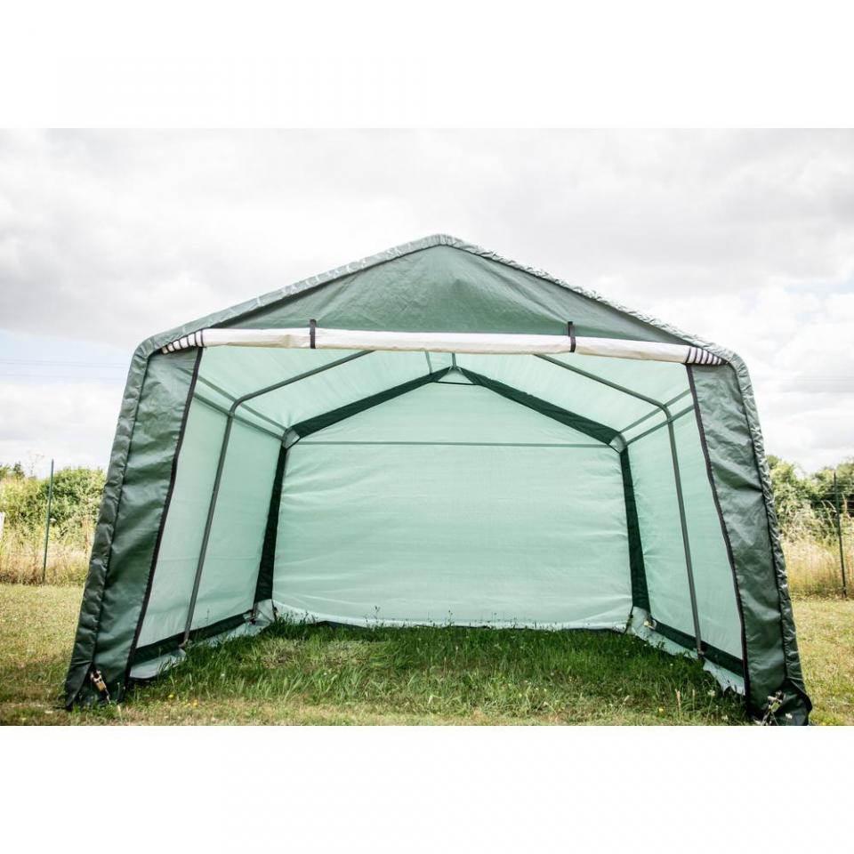 Shelter grand abri toile renforce 1380 m2 3312 m3 - Abri jardin toile ...