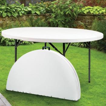 Table ronde pliante d appoint