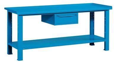 Etabli métallique avec tiroir