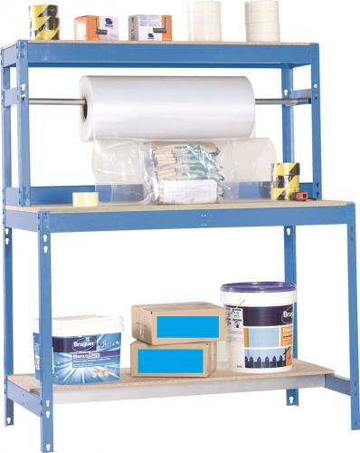 Etabli Table d Emballage bleu