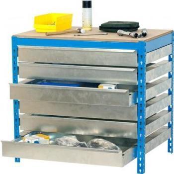 ETABLI 6 tiroirs de rangement