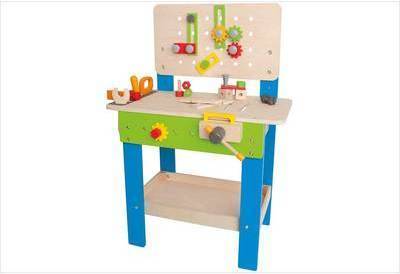 hape etabli en bois enfant. Black Bedroom Furniture Sets. Home Design Ideas