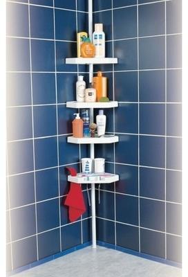 Etagère de douche en plastique