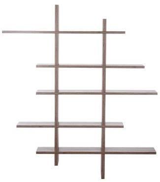 tagère design ZigZag en bois