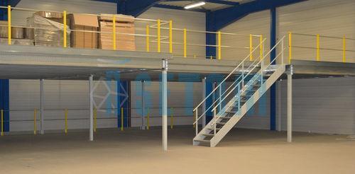 M plateforme stockage mezzanine