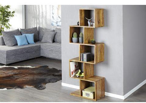 tagère en bois massif 5 niveaux