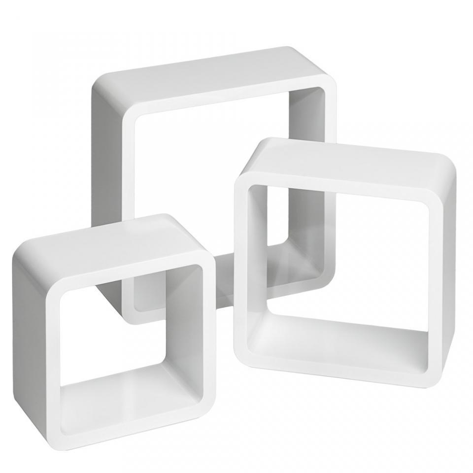 tagère murale design 3 Cubes