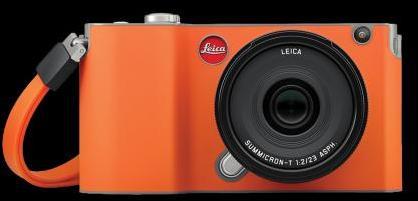 LEICA T-SNAP Coque Rouge-Orange