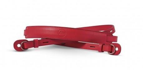 Leica courroie rouge pour