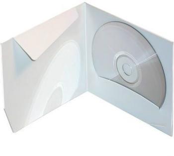 Pochette CD carton blanc