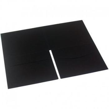 Digifile noir à plat pour