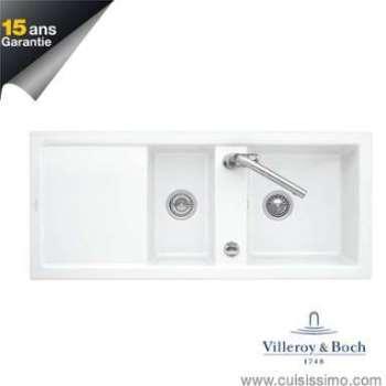 Evier céramique blanc Villeroy