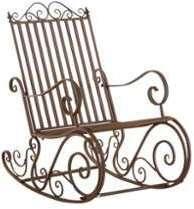 Chaise fauteuil à bascule