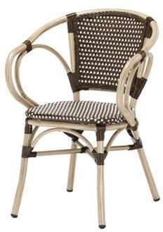 SOLDES Fauteuil bistrot NINA
