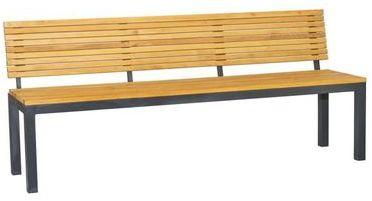 Catgorie fauteuil de jardin du guide et comparateur d 39 achat - Banc en bois avec dossier ...