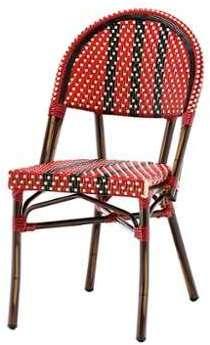 Chaise bistrot NICO en polyrotin