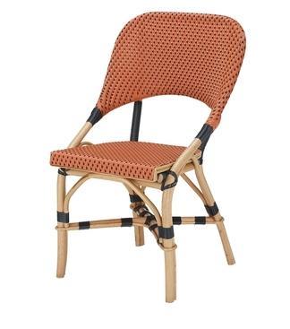 Chaise bistrot JERY en polyrotin