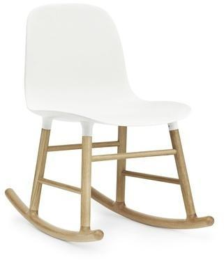 Form Rocking Chair Oak - Fauteuil