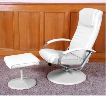 Fauteuil Relax GALICE Blanc