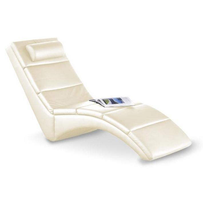 Fauteuil relax design beige