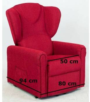 Fauteuil releveur TAILLE MOYENNE