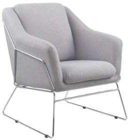 Fauteuil relax design gris