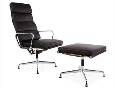 Chaise Lounge EA222 - Noir