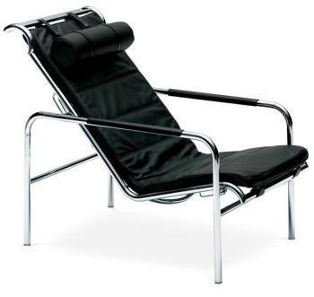 Genni - Chaise Longue - noir