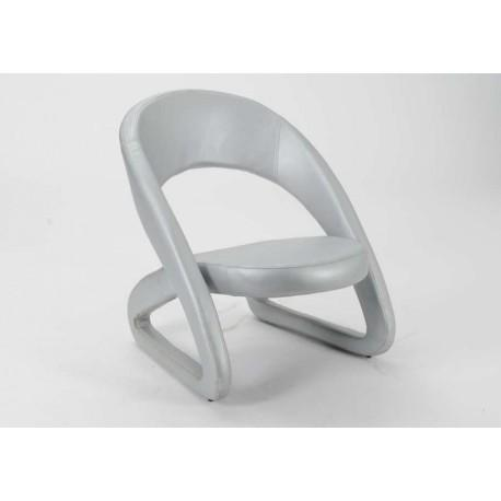 Fauteuil moderne Silver Archi