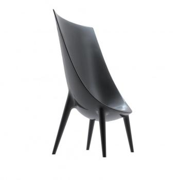 Out In High Easy Chair - noir