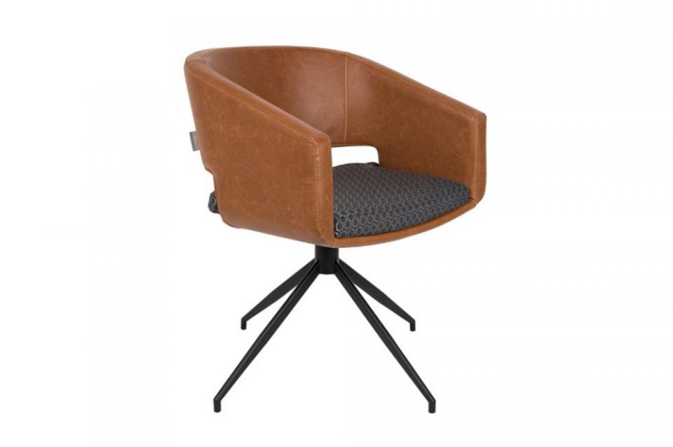 ZUIVER Chaise BEAU en tissu