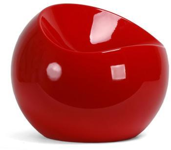 XLBoom - Ball Chair rouge