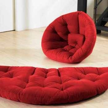 Nest Nido futon rouge
